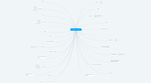 Mind Map: Temas de 5 y 6 semestre