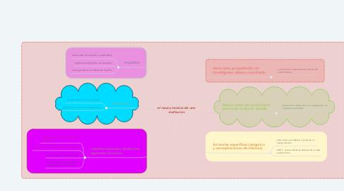 Mind Map: el marco teorico de una institucion