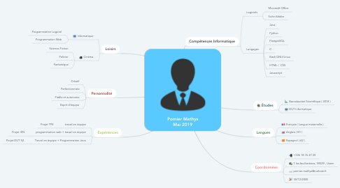 Mind Map: Pomier Mathys Mai 2019