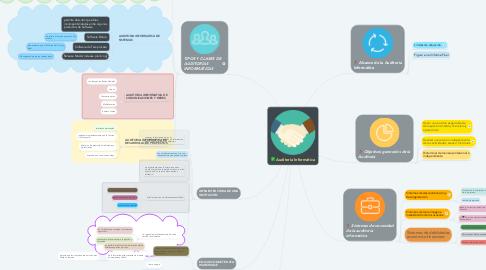 Mind Map: Auditoría Informática