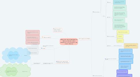 Mind Map: Desarrollo de la perspectiva teórica: revisión de la literatura y construcción del marco teórico
