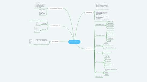 Mind Map: Gimnasia básica.