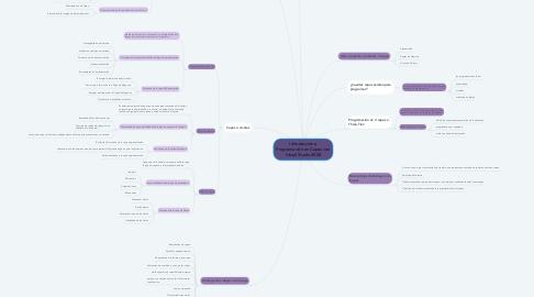 Mind Map: Introducción a Programación en Capas con Visual Studio 2008