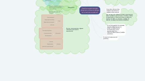 Mind Map: Diseños experimentales ¿Que son y como se utilizan en la ciencias acuaticas?