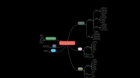 Mind Map: Dynamique Structure