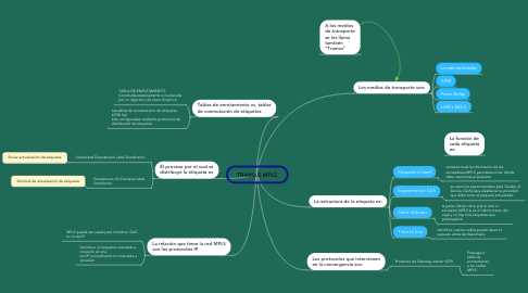 Mind Map: TRAMAS MPLS