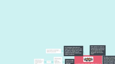 Mind Map: LA NATURALEZA DEL ANÁLISIS Y LA ELECCIÓN DE LA ESTRATEGIA