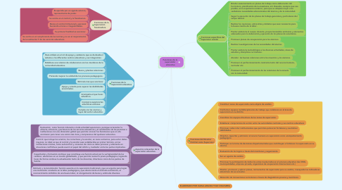 Mind Map: Funciones de la  supervisión  educativa