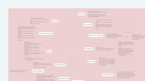 Mind Map: Metabolismo de proteinas
