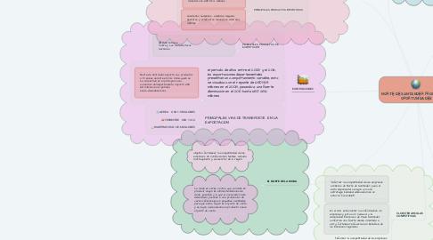Mind Map: NORTE DE SANTANDER FRONTERA DE OPORTUNIDADES