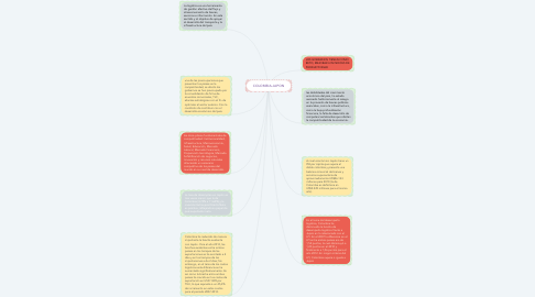 Mind Map: COLOMBIA-JAPON