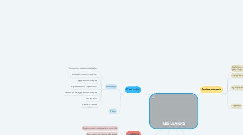 Mind Map: LES LEVIERS