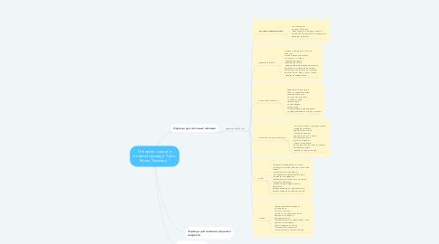 """Mind Map: Интернет-магазин женской одежды """"Шик. Блеск. Красота."""""""