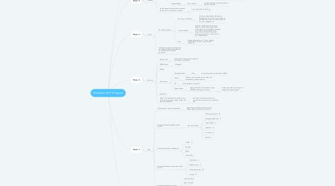 Mind Map: Planejamento Pré Viagem