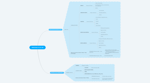 Mind Map: PERSONAS FLUX AIR