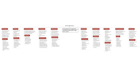 Mind Map: Modelos Epistemológicos