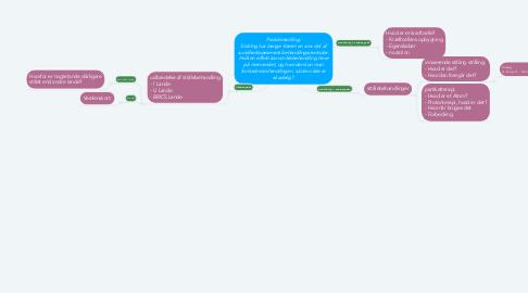 Mind Map: Problemstilling: Stråling har længe Været en stor del af sundhedsvæsenets behandlingsmetoder. Hvilken effekt kan strålebehandling have på mennesket, og hvordan kan man forbedre behandlingen, så den ikke er skadelig?