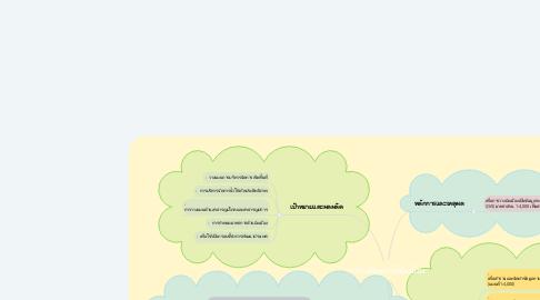 Mind Map: การผลิตแผนที่ผังเมือง