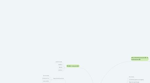 Mind Map: Mon portfolio