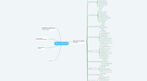 Mind Map: Сервис по хранению