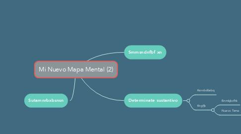 Mind Map: Mi Nuevo Mapa Mental (2)