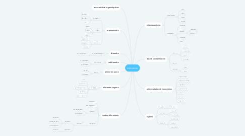 Mind Map: alimentos