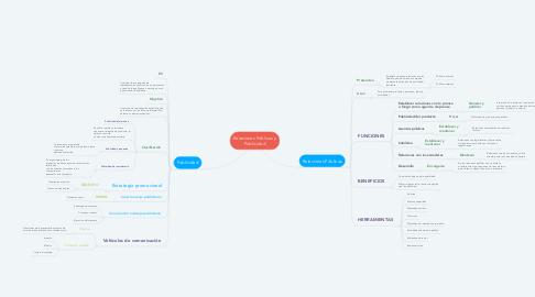 Mind Map: Relaciones Públicas y Publicidad