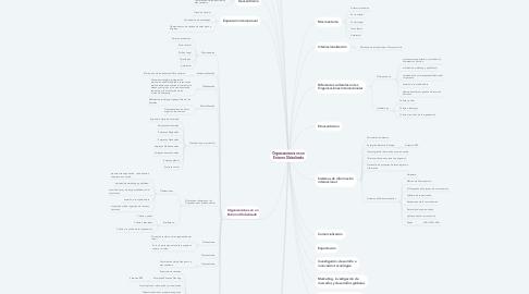 Mind Map: Organizaciones en un Entorno Globalizado
