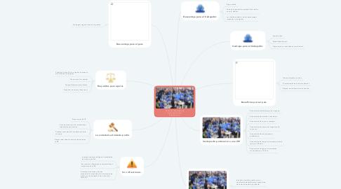 Mind Map: ZIP (Zonas industriales de Procesamiento Para Exportaciones)