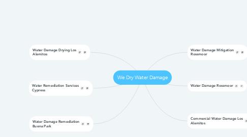 Mind Map: We Dry Water Damage