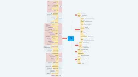 Mind Map: IT INFRASTRUCTURE & OPERATIONS