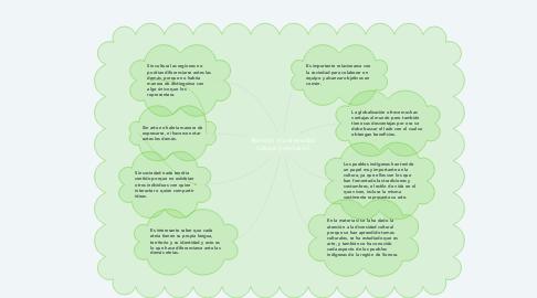 Mind Map: Atención a la diversidad cultural (conclusión)