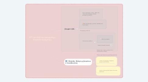 Mind Map: IKT naudojimas suaugusiųjų švietime (mokymai)