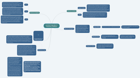 Mind Map: Actividad integradora 5. Potencias y conflictos