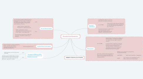 Mind Map: Derechos Socio Económicos