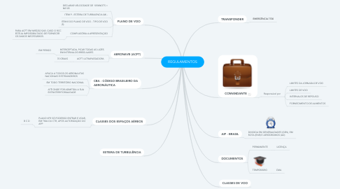 Mind Map: REGULAMENTOS