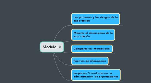 Mind Map: Modulo IV