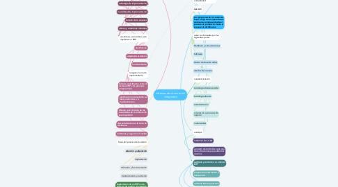 Mind Map: sistemas de informacion integrados