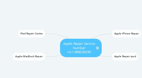 Mind Map: Apple Repair Service Number +61-388205390