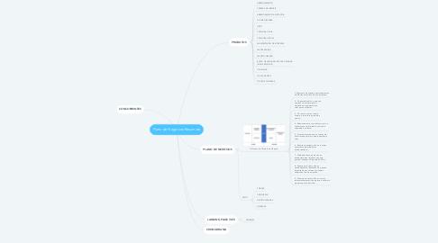 Mind Map: Plano de Negócios Resumido