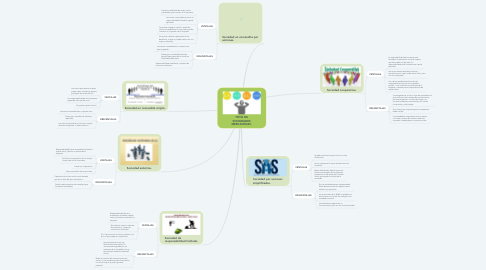 Mind Map: TIPOS DE SOCIEDADES MERCANTILES.