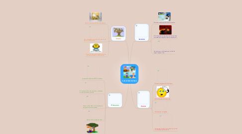 Mind Map: Las estaciones