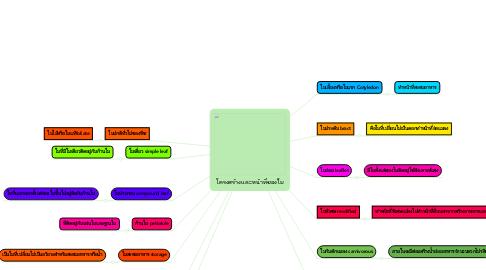 Mind Map: โครงสร้างและหน้าที่ของใบ