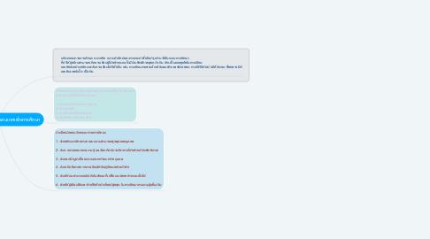 Mind Map: นวัตกรรมเทคโนโลยีสารสนเทศเพื่อการศึกษา