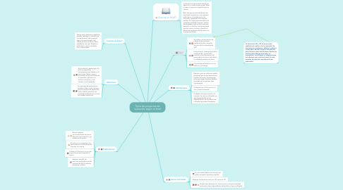 Mind Map: Tipos de proyectos de ilustración según el brief