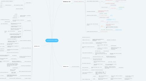 Mind Map: ESTUDO DO CURSO