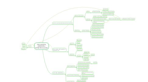 Mind Map: EVALUACIÓN AMBIENTAL ESTRATÉGICA (EAE)
