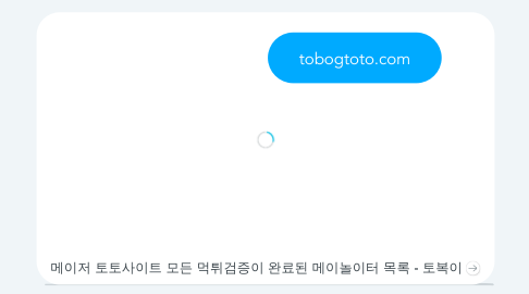 Mind Map: tobogtoto.com