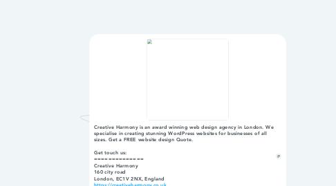 Mind Map: Creative Harmony