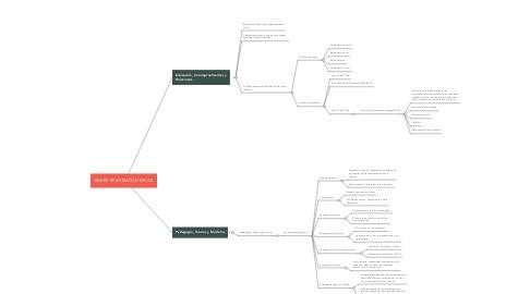 Mind Map: BASES EPISTEMÓLOGICAS